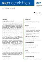 10 l10 - PKF Fasselt Schlage
