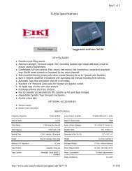 5190A Specifications Suggested List Price: 203.00 Page 1 of 2 3/14 ...