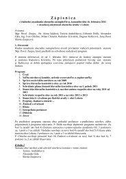 Zápisnica a uznesenie z riadneho zastupiteľstva - Obec Lehota
