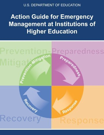 Action Guide for Emergency Management at Institutions of Higher