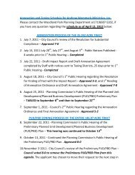 Wommack Ministries Revised Schedule for Annex and Zoning ...