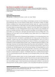 Sprachzeichenprozesse - Litnet - Literatur in Netzen -Netzliteratur