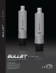 Bullet M Titanium Datasheet - Ubiquiti Networks