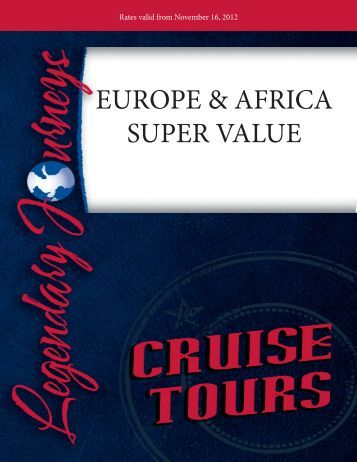 trip includes - Legendary Journeys