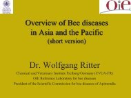 Dr. Wolfgang Ritter - OIE Asia-Pacific
