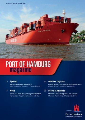Port of Hamburg Magazin 02 - Hafen Hamburg