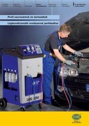 Klíma szerszám katalógus és termékismertető 2011 - hella.shop.hu