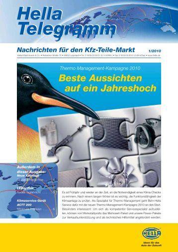 Hella Telegramm als PDF - Autoteile Pirna