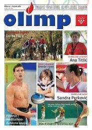 OLIMP - broj 32 - rujan 2009. - Hrvatski Olimpijski Odbor