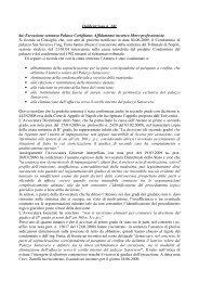 6a) Esecuzione sentenza Palazzo Corigliano - Università degli studi ...