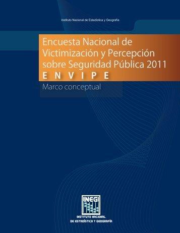 INEGI. Encuesta Nacional de Victimización y Percepción sobre ...