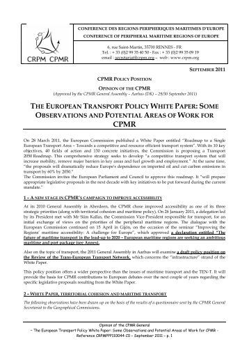 transport policy essay Transport policy evaluation and planning – conventional economic  write an  online article/ essay upon transport development and sustainability issue.