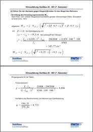 Stahlbau III BDK Beispiel 4b.pdf - Lehrstuhl für Stahlbau der RWTH