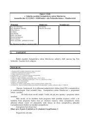 Zápis z jednání ZM č. 6/2012 ze dne 12.12.2012 - Mnichovice
