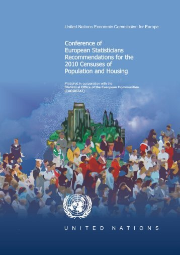 Recommendations for the 2010 Censuses of Population and Housing