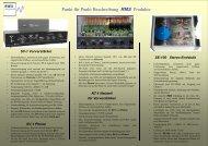 SV-1 - RAD Akustik