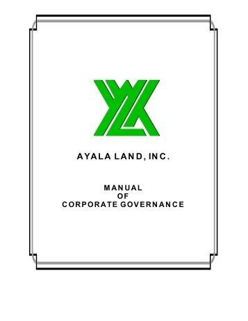 Evaluation of ayala lands corporations through