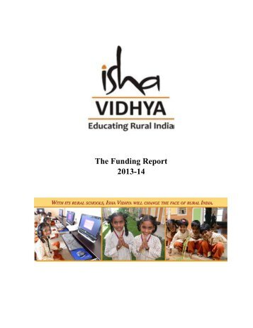 Isha_Vidhya_Funding_Report_2013_14