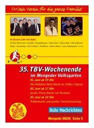Programmheft-2012 - Mengede 08/20