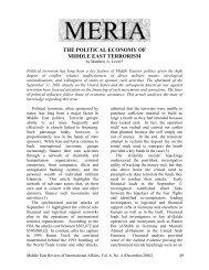 Political terrorism has long been a key feature of ... - GLORIA Center