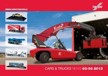 CARS & TRUCKS NEWS 03-04 2013 - Herpa