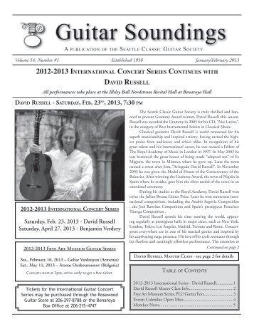 Guitar Soundings, v.54 n.1 (January/February 2013)