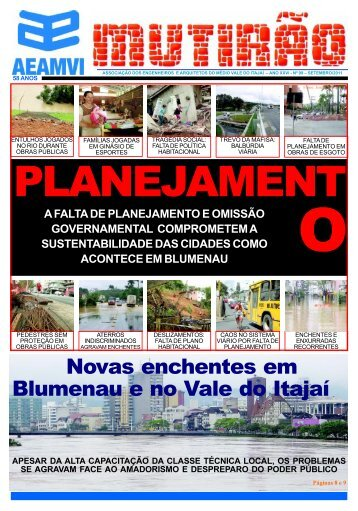 Novas enchentes em Blumenau e no Vale do Itajaí - aeamvi ...