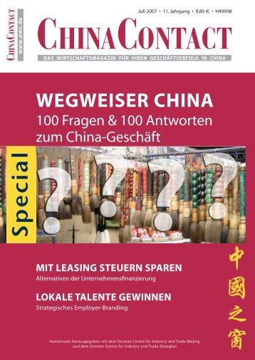 china - German Centres
