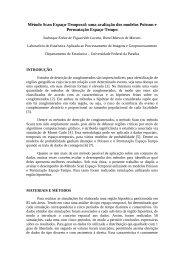 Método Scan Espaço-Temporal - Departamento de Estatística