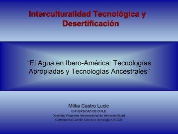 """""""El Agua en Ibero-América: Tecnologías Apropiadas y Tecnologías ..."""