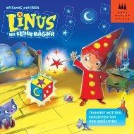 Linus, der kleine Magier - Drei Magier Spiele