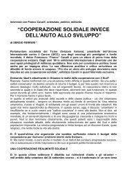 Unite Intervista con Franco Cavalli Italiano - Unité