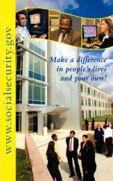 Brochure - Social Security