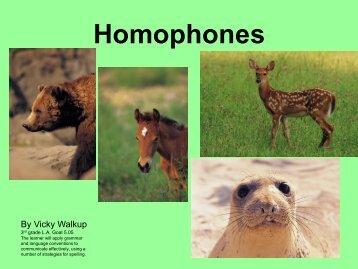 Homophones 2.ppt
