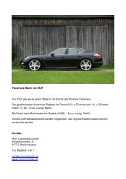 Herunterladen - Ruf Automobile GmbH - Manufaktur für ...
