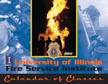 2011 Distributed Print Calendar - Illinois Fire Service Institute