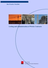 Letting and Administration of Works Contracts