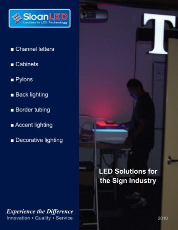 LED Solutions for the Sign Industry - signSearch