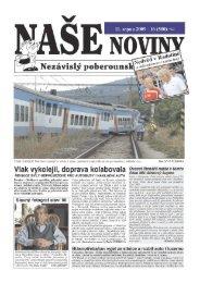 2009 - číslo 500 - naše noviny archiv