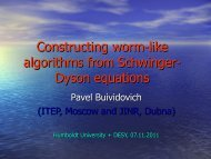 Constructing worm-like algorithms from Schwinger ... - Lattice Seminar