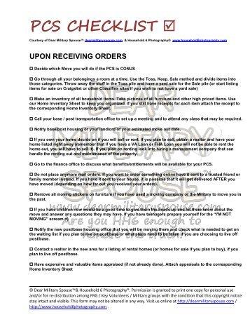 Usmc Pcs Orders Template - Ecordura.com