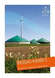 biogas kann's