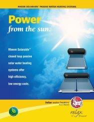 Power from the Sun brochure (pdf)