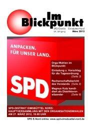 Blickpunkt 03-2012-online - SPD Eimsbüttel-Nord