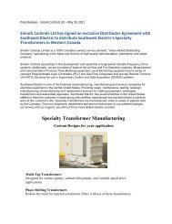 Southwest Electric Press Release.docx - Simark Controls