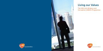 GSK - Anti-Bribery and Corruption (ABAC) Programme