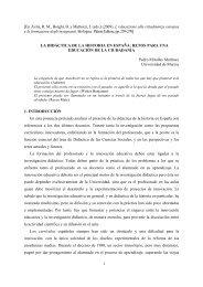 La Didáctica de la Historia en España - asociación universitaria de ...