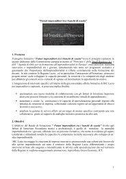 Il Progetto - Biclazio.it