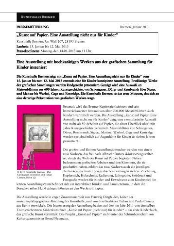 Download (0,11 MB) - Kunsthalle Bremen