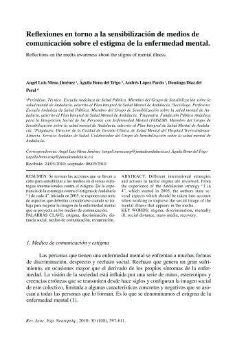 Reflexiones en torno a la sensibilización de medios - Página 1 de ...